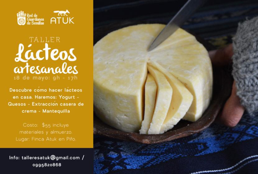 lacteos-artesanales red de guardianes de semillas ecuador